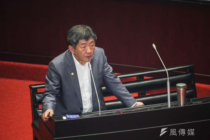 20200306-衛服部長陳時中於立院10屆一會期第三次會議接受備詢。(蔡親傑攝)