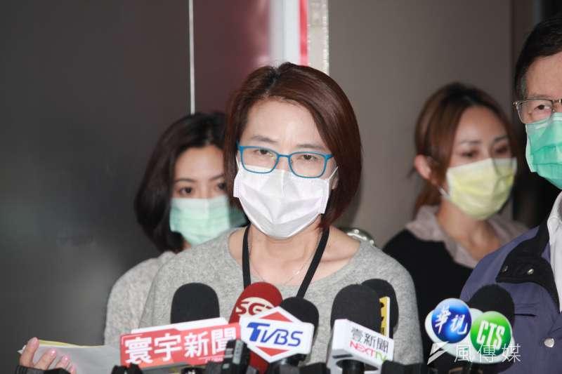 台北市副市長黃珊珊表示,許多居家檢疫者卻亂跑,造成人心惶惶。(方炳超攝)