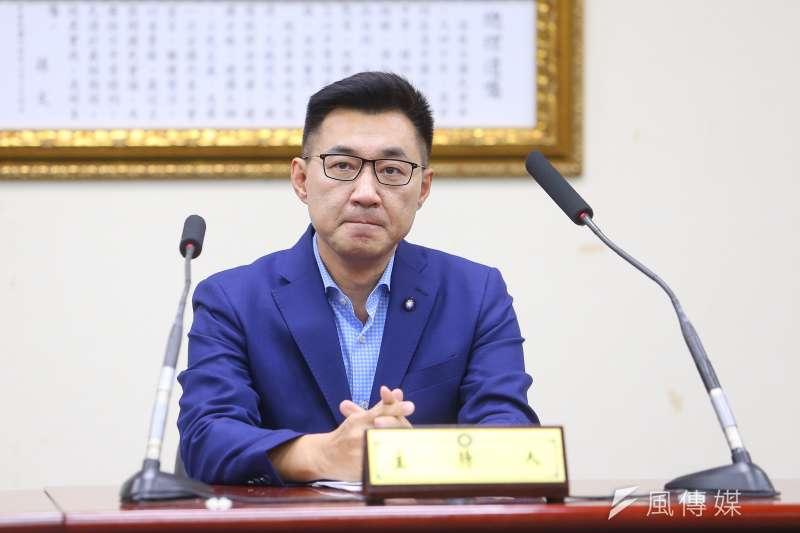 國民黨主席補選7日由江啟臣勝出。(顏麟宇攝)