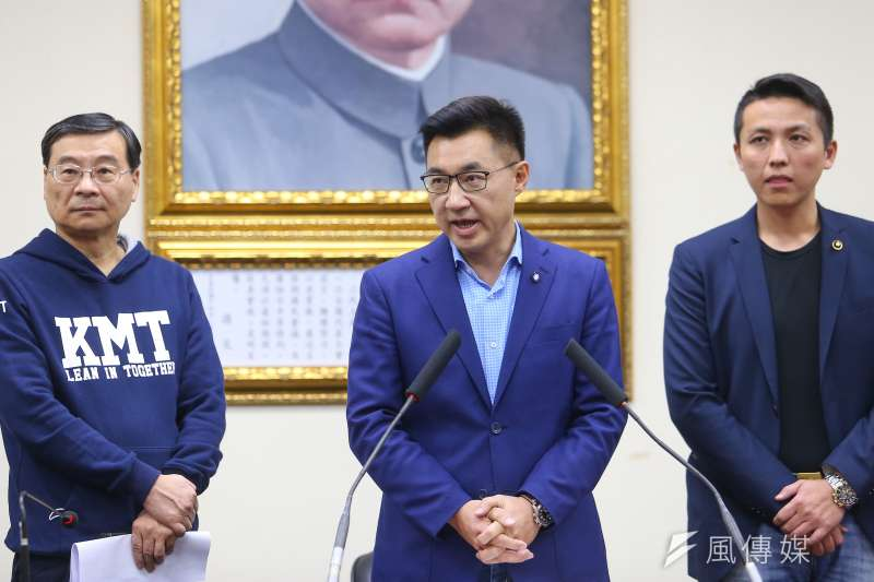 20200307-國民黨主席補選7日由江啟臣勝出。(顏麟宇攝)