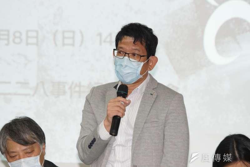 靜宜大學通識教育中心教授蘇瑤崇(見圖)以數據指出,二二八事件中超過3分之1的外省人死於政府鎮壓,時任高雄要塞彭孟緝發動的鎮壓造成外省人最大的傷亡。(盧逸峰攝)
