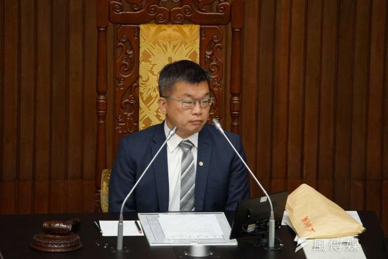 民進黨新系和正國會在中台灣呈現對抗之勢,新系決定協助現任立法院副院長蔡其昌(見圖)代表民進黨出戰2022台中市長。(資料照,盧逸峰攝)