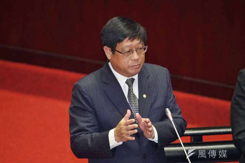 環保署長楊子敬(見圖)對於「新材料循環園區」的建成感到期待。(資料照,盧逸峰攝)