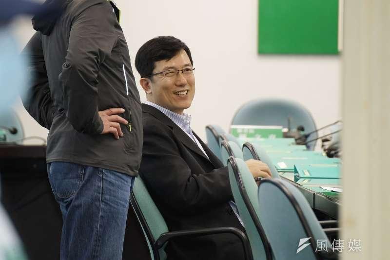 20200311-民進黨11日召開中常會,中研院社會研究所副所長陳志柔出席。(盧逸峰攝)