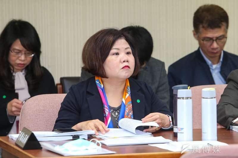 20200312-勞動部長許銘春12日出席衛環委員會。(顏麟宇攝)