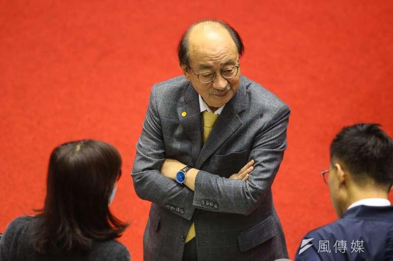 20200313-民進黨總召柯建銘13日出席院會。(顏麟宇攝)