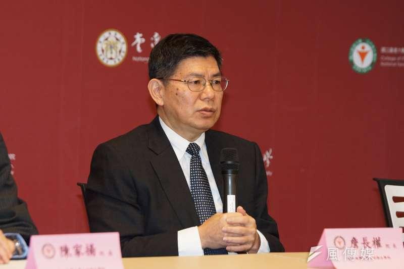 台大公衛學院院長詹長權擔憂此時開放外國人就醫,恐給台灣醫療體系帶來負擔。(資料照,盧逸峰攝)