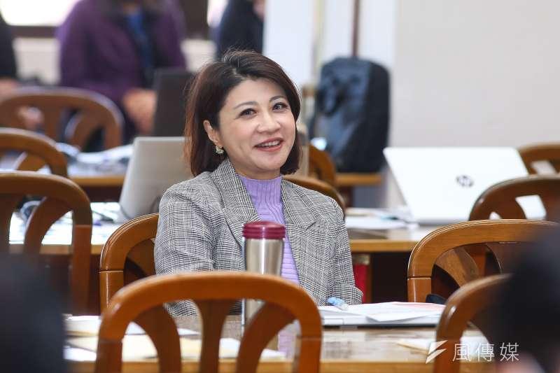 民進黨立委林楚茵(見圖)被質疑在立法院議場大看《愛奇藝》追劇。(資料照,顏麟宇攝)