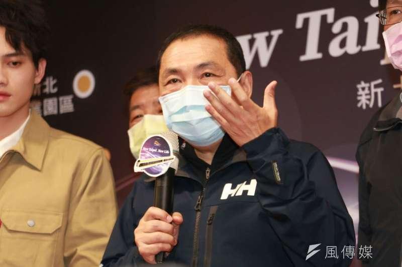 針對全國新冠肺炎疫情升溫,新北市長侯友宜(見圖)今(18)日表示,建議總統蔡英文發布緊急命令。(資料照,李梅瑛攝)