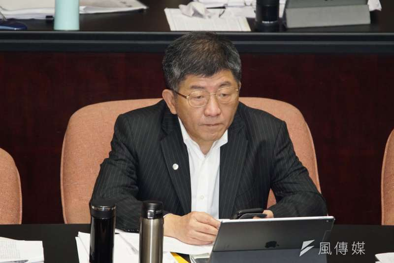 20200317-衛福部長陳時中17日於立院院會備詢。(盧逸峰攝)
