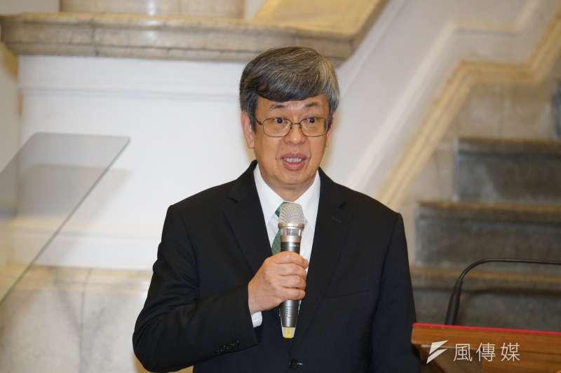副總統陳建仁卸任後、即將返回中研院從事研究工作。(資料照,盧逸峰攝)