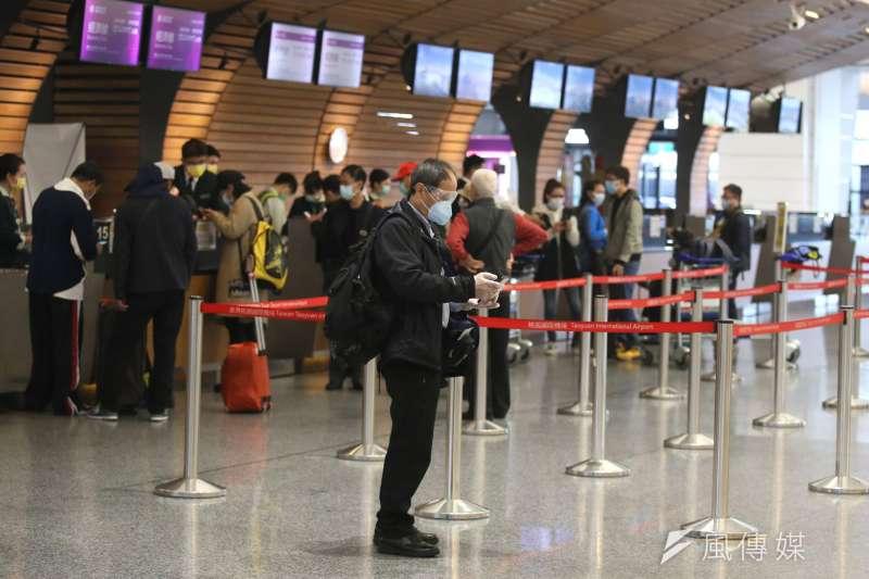 美國政府將全球的旅遊警戒升至最高等級(第4級)並鼓勵其國人返美之際,筆者認為台灣政府卻反向操作呼籲海外台人勿坐飛機返台。(資料照,柯承惠攝影)