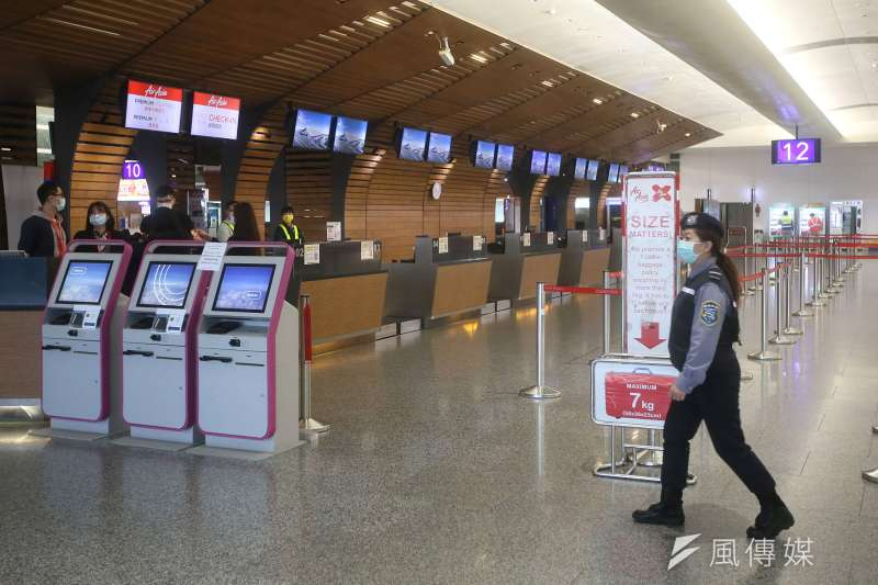 台灣桃園機場入出境旅客大廳(資料照,柯承惠攝)
