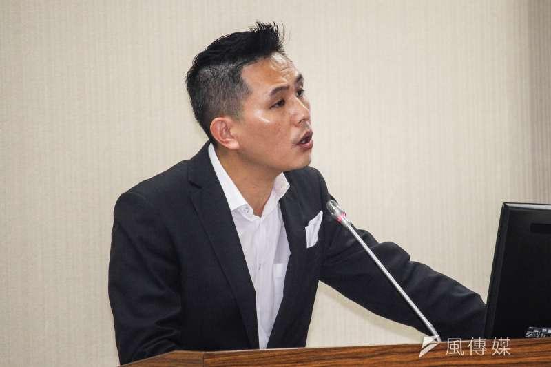 國民黨立委陳以信稱高雄「又高又雄」引來綠營批評。 (資料照片,蔡親傑攝)