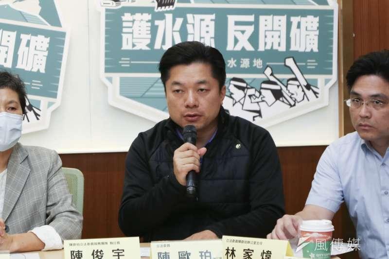 民進黨宜蘭縣黨部新任主委陳俊宇(資料照.簡必丞攝)