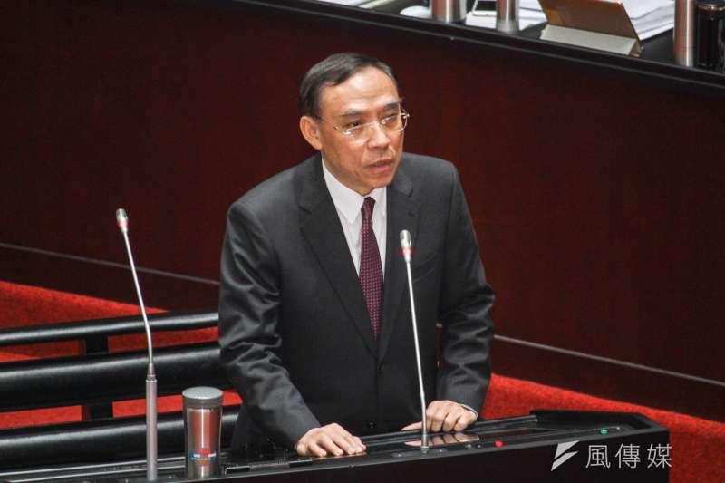 法務部長蔡清祥今(1)日證實晚間執行死囚翁仁賢槍決。(資料照,蔡親傑攝)