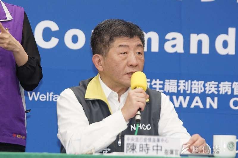 中央流行疫情指揮中心指揮官陳時中(見圖)表示,新冠肺炎患者存在無症狀感染者,台灣確診人數累積至今共215人,其中有11人無症狀,等於逾5%患者為無症狀者。(資料照,盧逸峰攝)