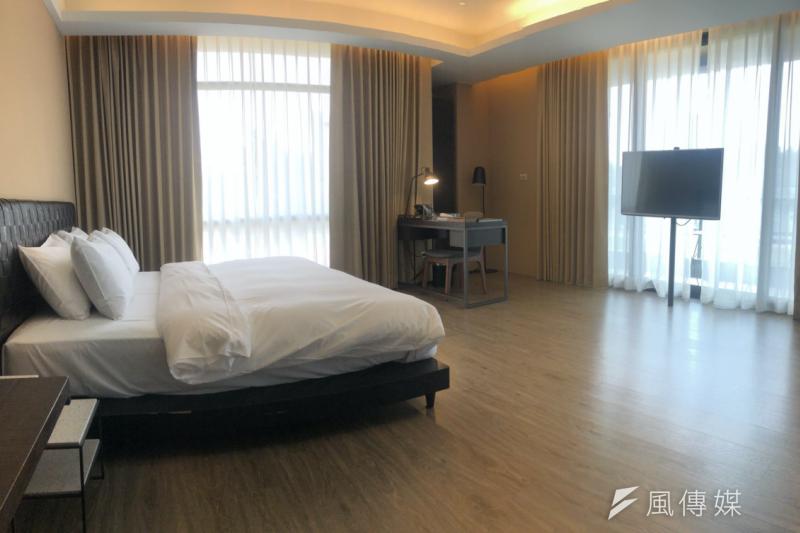 台北市第四家防疫旅館正式啟用,預計將提供20個房間給居家檢疫旅客。(台北市政府提供)