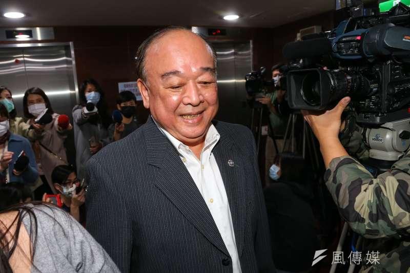 20200323-國民黨立委吳斯懷23日接受媒體聯訪。(顏麟宇攝)