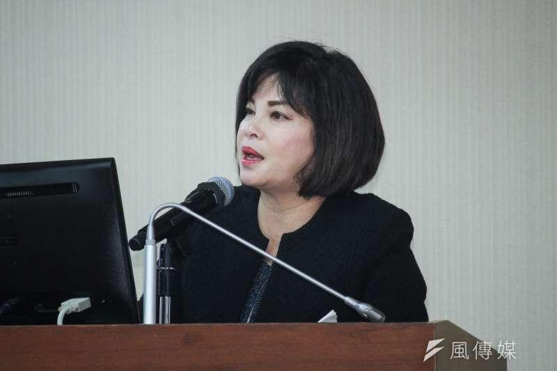 民進黨立委賴惠員稱鐵路警察態度散漫,表示要凍結預算,質詢影片曝光引發議論。(資料照,蔡親傑攝)