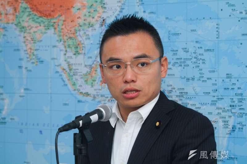 20200323-立委洪孟楷23日於立法院受訪,談及疫情議題。 (蔡親傑攝)