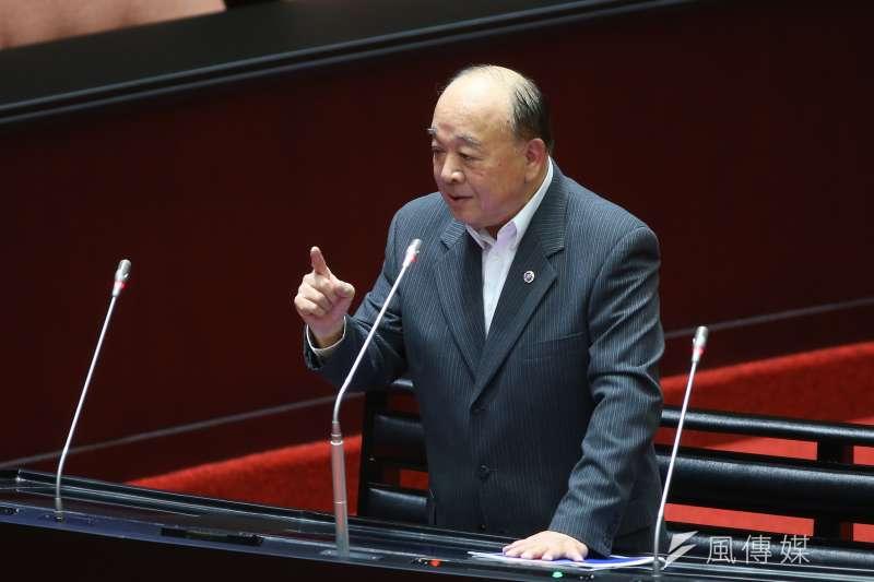 國民黨立委吳斯懷從列名國民黨不分區名單到進入立法院,始終備受注意。(顏麟宇攝)