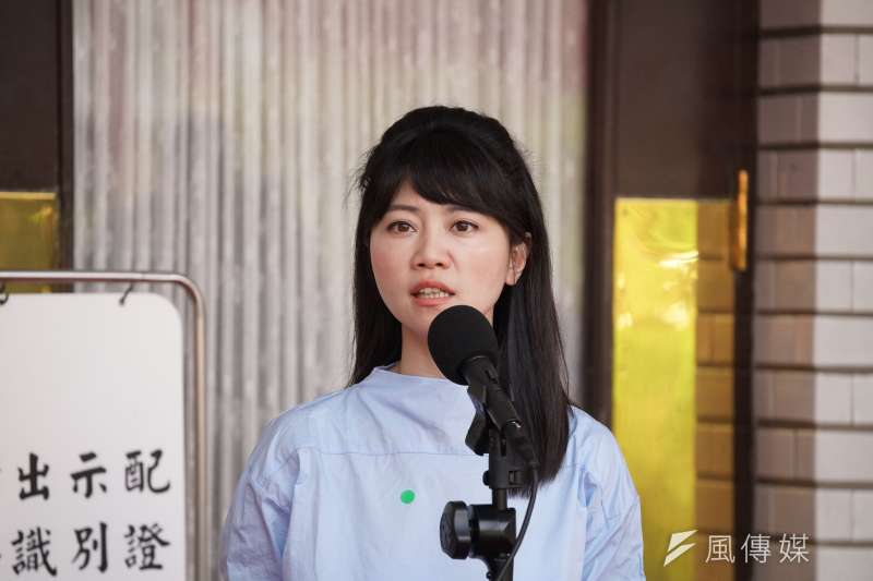 立委高嘉瑜(見圖)日前在節目中形容高雄是「小北韓」、市長韓國瑜則是「高雄金正恩」,臉書粉專「朝鮮經貿文化情報DPRK」表示抗議,高嘉瑜今(8)日為此道歉。(資料照,盧逸峰攝)