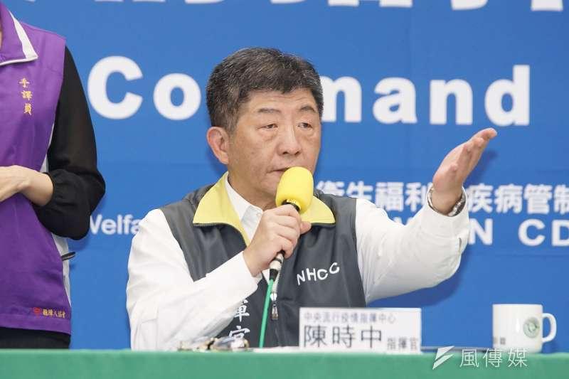 中央流行疫情指揮中心指揮官陳時中(見圖)指出,案269跟剛返國的部會官員之子互動,2人大概相處約半小時的時間。(資料照,盧逸峰攝)
