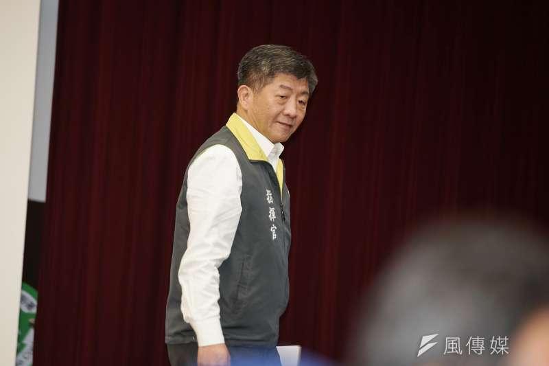 新冠肺情一疫,讓陳時中幾乎成了內閣唯一的政務官。(資料照片,盧逸峰攝)