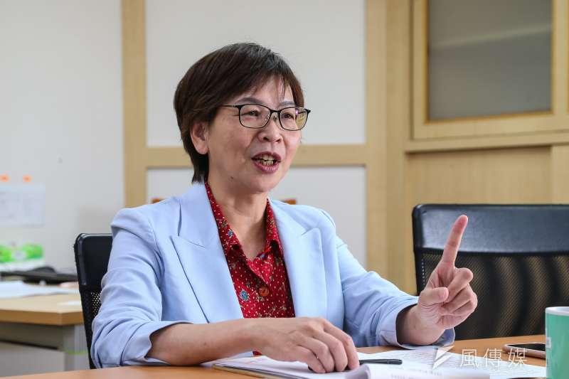 20200324-民眾黨立委蔡壁如專訪。(顏麟宇攝)