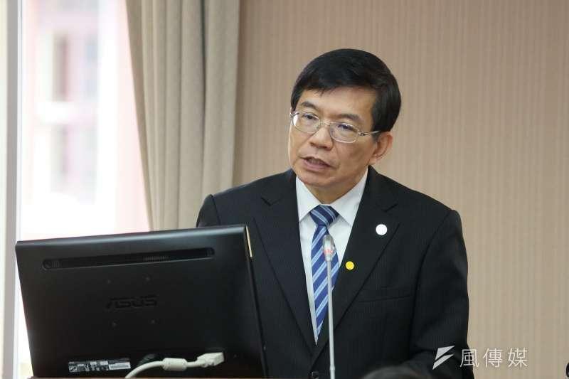 20200325-交通部次長王國材25日於交通委員會備詢。(盧逸峰攝)