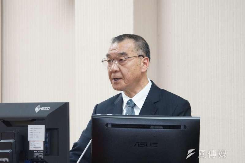國家安全局長邱國正(見圖)今(25)日接受質詢時表示,中國受到疫情紛擾必須找一個出口點,因此中止ECFA確實是有可能發生的。(盧逸峰攝)