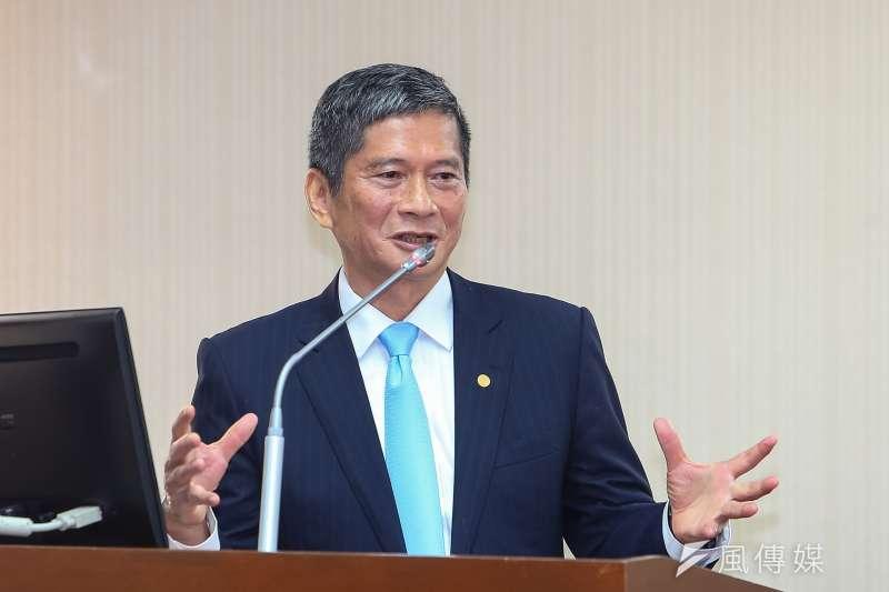 公共電視國際影音平台引發爭議,文化部長李永得叫停。(顏麟宇攝)