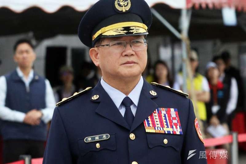 海巡署長陳國恩。(蘇仲泓攝)
