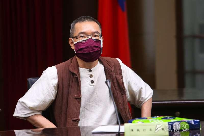 20200327-尊重生命全民運動大聯盟執行長陳清龍27日出席中選會「人工流產思考期」聽證會。(顏麟宇攝)
