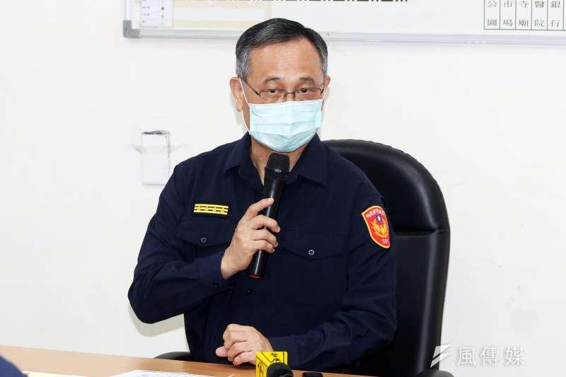 警政署長陳家欽最近一波分局長候用甄試在基層暗潮湧動。(蘇仲弘攝)