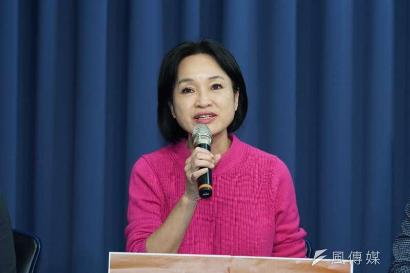 高雄市長韓國瑜罷免案投票在即,國民黨副秘書長、前立委柯志恩(見圖)日前在政論節目中表示,罷免市長應基於其有明顯違法行為,而不是私德或恩怨問題。(資料照,盧逸峰攝)