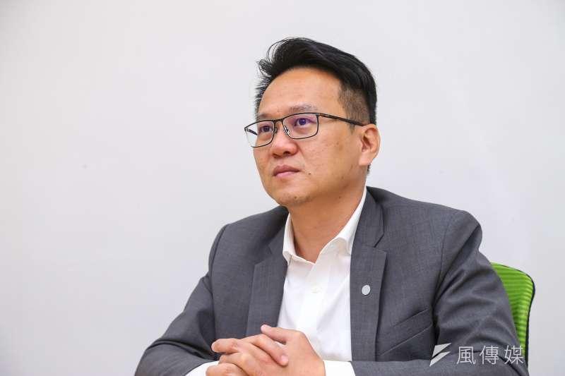 20200330-民進黨立委莊競程專訪。(顏麟宇攝)