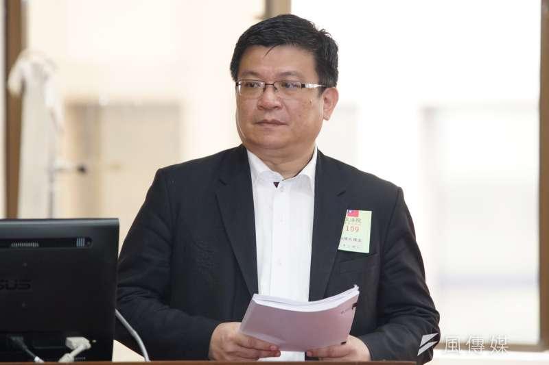20200330-經濟部次長曾文生30日出席財政委員會備詢。(盧逸峰攝)