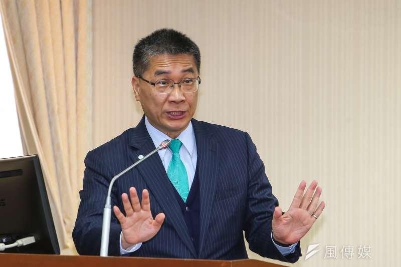 20200330-內政部長徐國勇30日於內政委員會備詢。(顏麟宇攝)