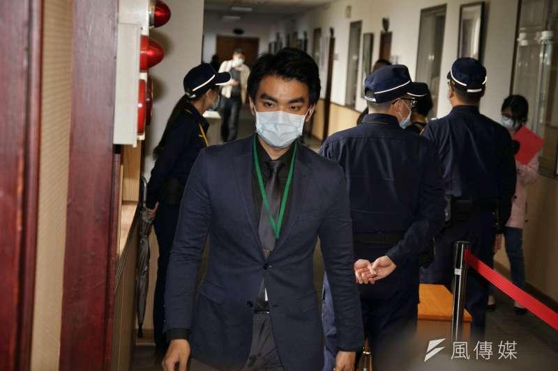 20200331-通姦除罪化言詞辯論於31日開庭,法官吳志強出席。(盧逸峰攝)