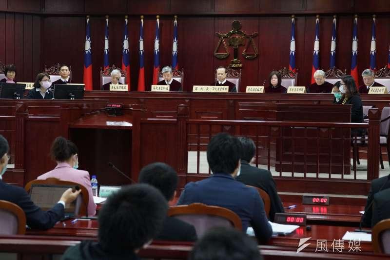 20200331-通姦除罪化言詞辯論於31日開庭。(盧逸峰攝)
