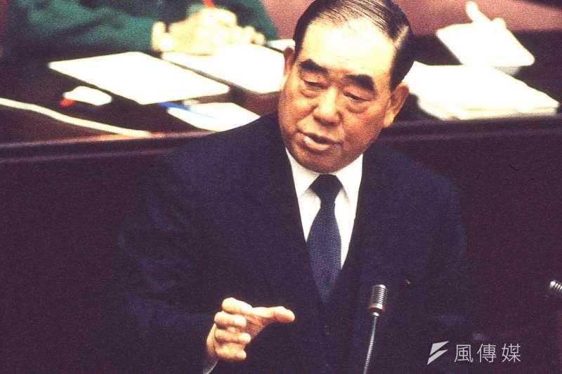 前行政院長郝柏村辭世之日,他終身捍衛的中華民國只剩下軀殼,中華民族逐漸被許多台灣民眾從血脈中清除(新新聞資料照)