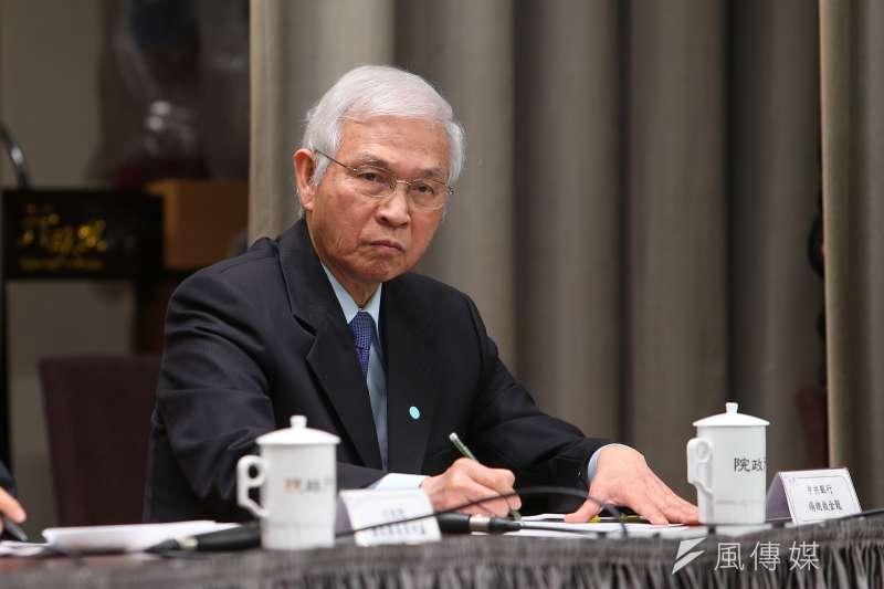 央行總裁楊金龍(見圖)指出,台灣今年對美貿易出超擴大,主要係中美貿易戰與新冠肺炎疫情導致。(資料照,顏麟宇攝)