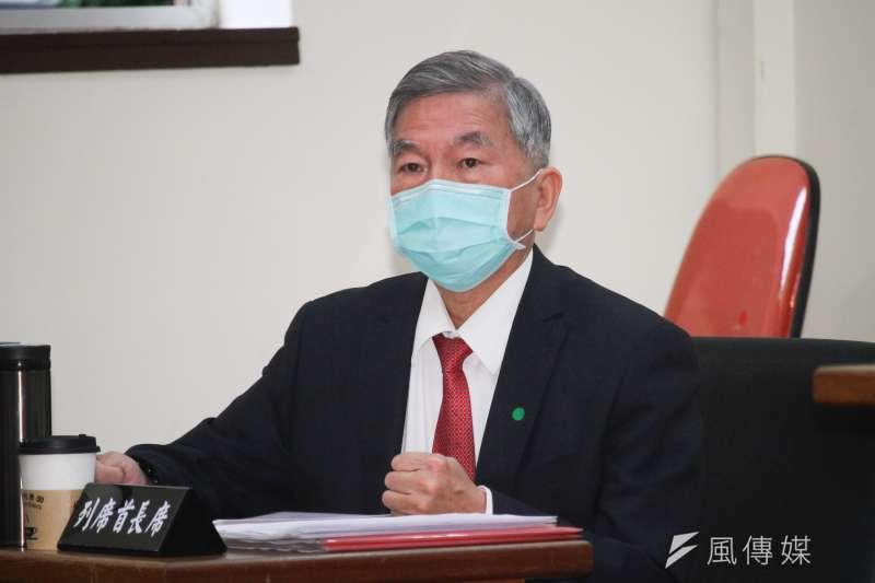 20200408-立法院經濟委員會邀經濟部長沈榮津專題報告與備詢。 (蔡親傑攝)