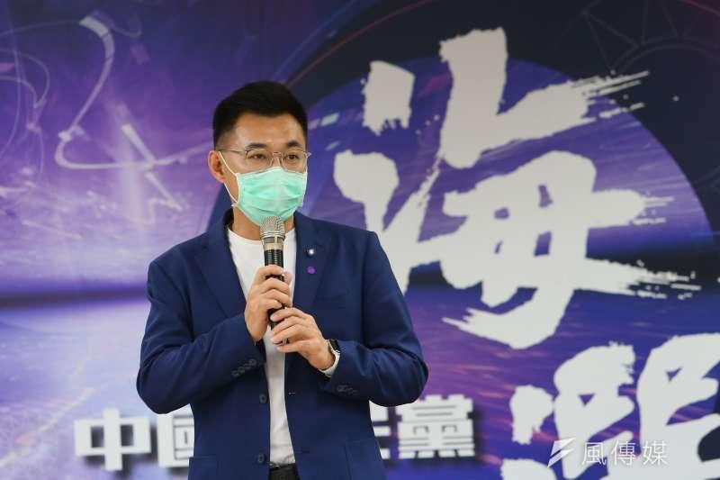 作者認為,國民黨在江啟臣主席的帶領下,必須更有效闡述立場,說服包括年輕人在內的台灣選民以及美國等理念相近國家。圖為國民黨主席江啟臣。(資料照,顏麟宇攝)
