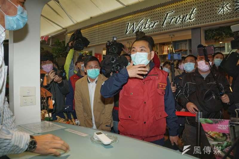 新北市長侯友宜(見圖)呼籲民眾,務必配合風景特定區的管制措施,違者將依相關法規處以罰鍰。(盧逸峰攝)