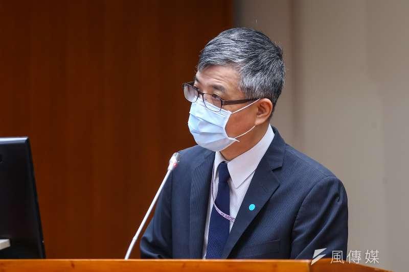 20200413-教育部次長劉孟奇13日於立院備詢。(顏麟宇攝)