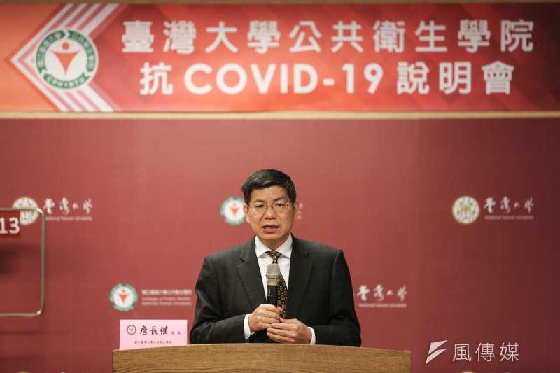國立台灣大學公共衛生學院院長詹長權(見圖)呼籲,在疫苗的生產與配送上,政府必須進行跨國合作。(資料照,簡必丞攝)