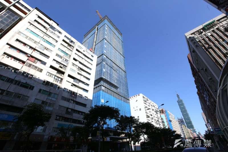 鄭金鴻認為,買房一定要選精華區,將來才有增值空間。(郭晉瑋攝)